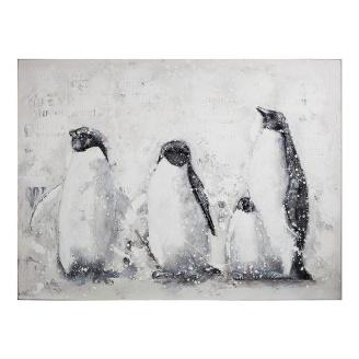 Stor bilde pingvin familie. KR 1379,-